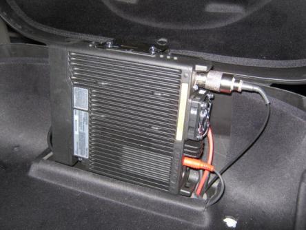 Radio mounting location