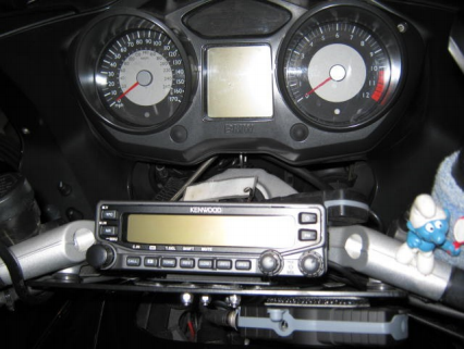 Driver's view of radio